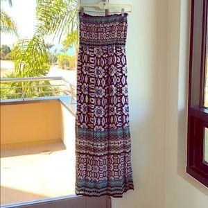 Angie strapless dress